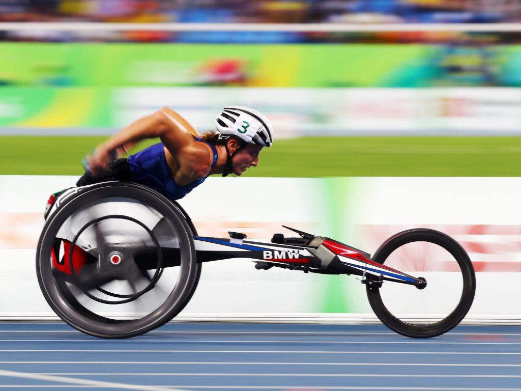 kursi roda bisa sangat cepat