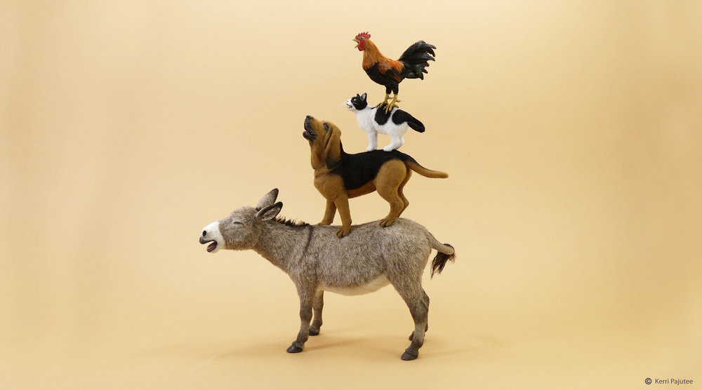 mainan edukasi untuk abk (miniatur patung)