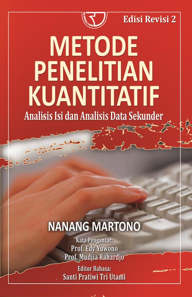 Metode Penelitian Kuantitatif Karya Nanang Martono
